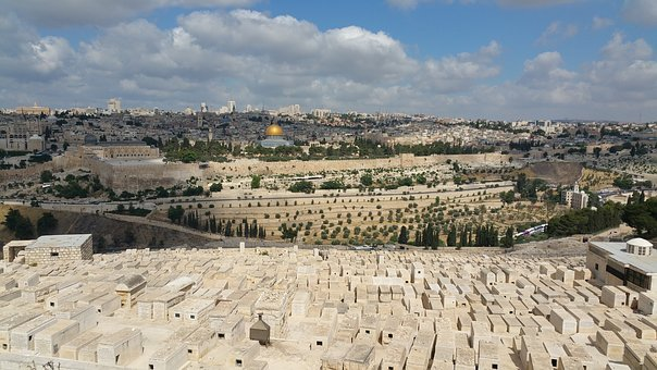 Jerusalem, Panorama, City, Holy, Architecture, Landmark