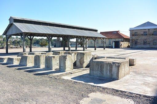 Stoneworks, Gazebo, Open Area, Standing Roof