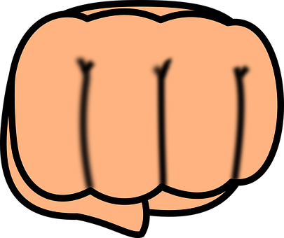 Hand, Fist, Punch, Clenched, Knuckle, Punching, Hit