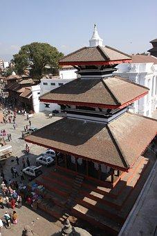 Nepal, Kathu Dumplings, The Old Temple, Palace