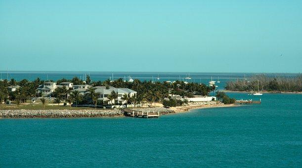 Florida, Coast, Beach, Key West, Nature, Ocean