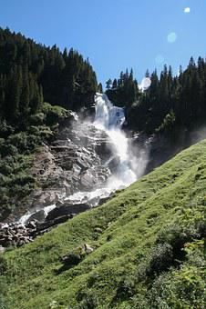 Krimmler Wasserfall, Waterfall, Nature, Mountains