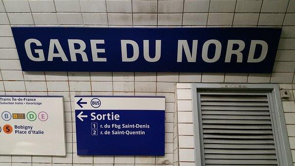 Nord, Gare, Gare Du Nord, Station, Transport, Train