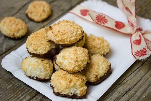 Advent, Cookies, Coconut, Chocolate, Pastries, Cookie