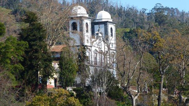 Madeira, Portugal, Funchal, Monte, Church