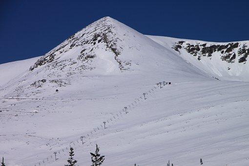 Cold, Mountains, Papusa, Peak, Retezat, Snow, Top