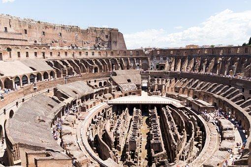 Rome, Italy, Building, Historically, Roman