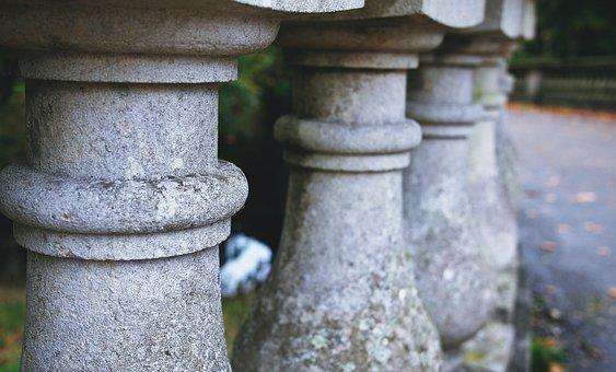 Balustrade, Stone, Balcony, Architecture, Park, Castle
