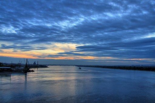 Permian, Sunset, Kama, Nature
