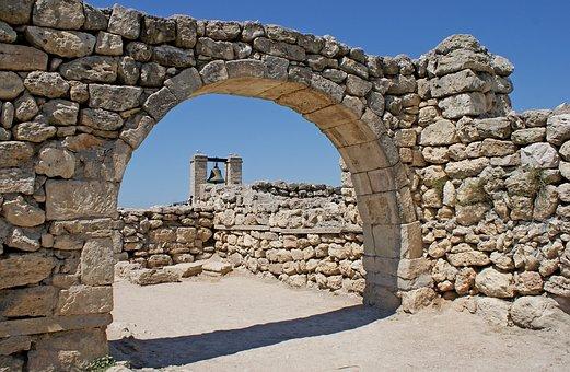 Ukraine, Crimean, Crimea, Khersones, Archeology