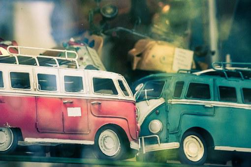 Vw, Combi, Van, Toy, Crash, Vehicle, Accident