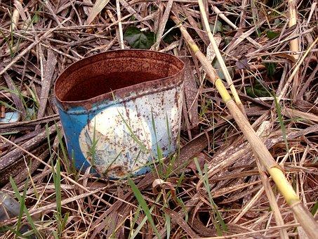 Nature, Box, Rusty