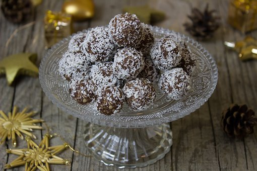 Rum, Rum Balls, Cookies, Christmas, Advent, Coconut