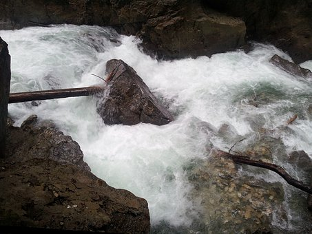 Water, Stone, Murmur, Partnach, Clammy, Gorge