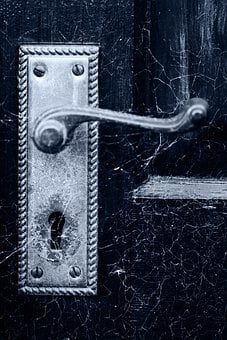 Halloween, Spooky, Scary, Detail, Dirty, Door, Handle