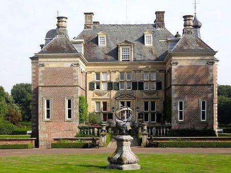 Castle Weldam, Front, Netherlands, Building, Facade