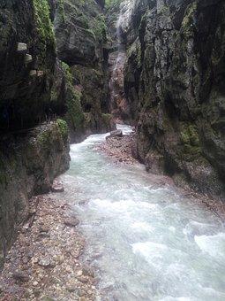 Partnach, Clammy, Partnach Gorge, Gorge, Water