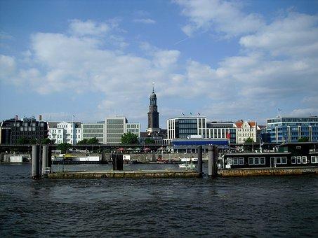Hamburg, Port City, St, Michaelis, St Michaelis