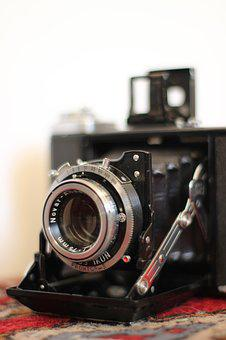 Camera, Analog, Old, Vintage, Hipster, Zeiss
