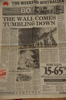 Newspaper, Historic, Front, Page, Photos, Print, Text