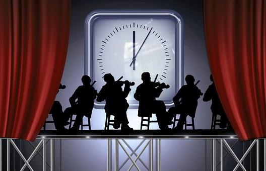 Stage, Stage Picture, Vorhnag, Show, Musician