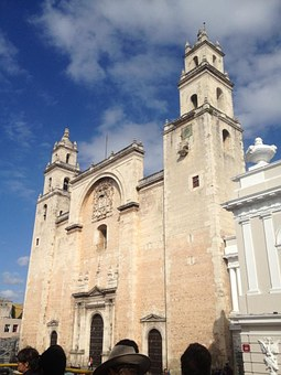 Sky, Merida, Cathedral