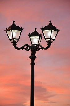 Lantern, Sunset, Light, Sky, 3 Lanterns
