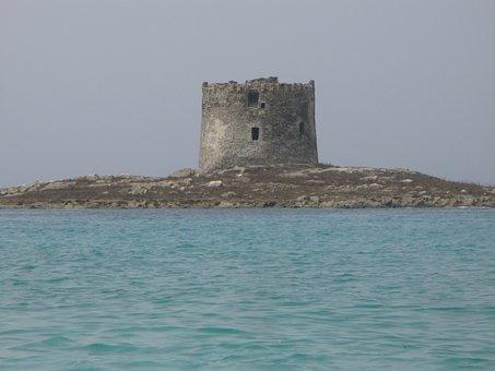 Stintino, Sardinia, Italy, Tower, Medieval, Iceland