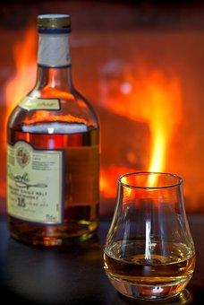 Whisky, Whiskey, Alcohol, Scotch, Glass, Bottle, Drink