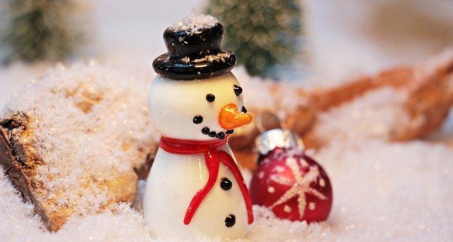 Snow Man, Snow, Winter, White, Wintry, Eismann, Cold