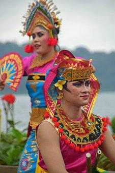 Bali, Indonesia, Travel, Temple, Temple Dancer, Dancers