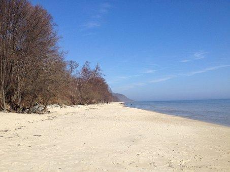 Kivik, Hanö Bay, Beach
