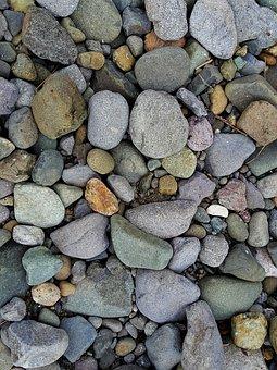 Stones, Pebbles, Nature, Big Stone, Summer