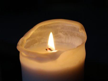 Candle, Mourning, Light, Candlelight, Memory