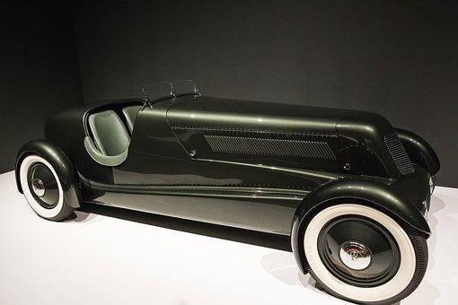 Car, 1934 Edsel's Ford Model 40, Speedster, Art Deco