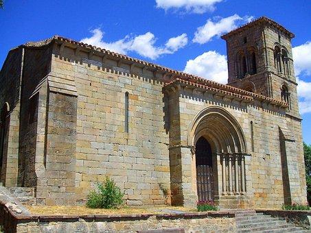 Palencia, Spain, Church, Building, Structure