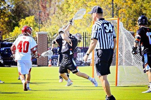 College, Lacrosse, Game