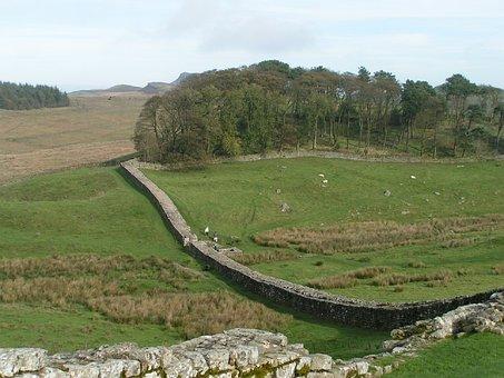 Hadrian's Wall, England, Northumberland, Countryside