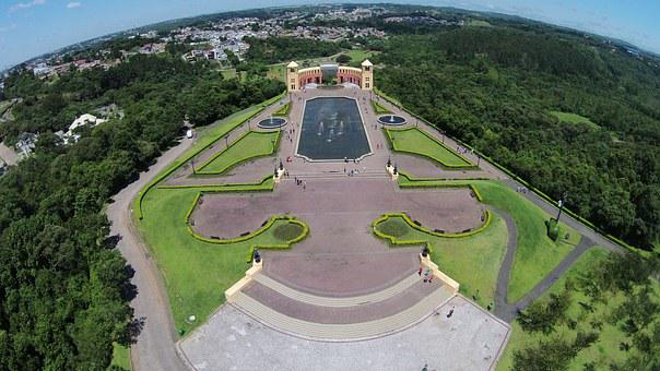 Tanguá Park, Curitiba, Brazil, City, Paraná