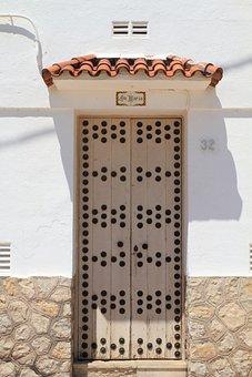 Catalonia, Komaruga, Door, Architecture, Doors, Street