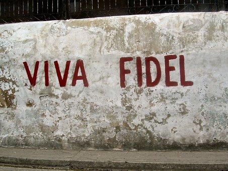 Fidel Castro, Cuba, Mural, Leader, Tribute, Revolution
