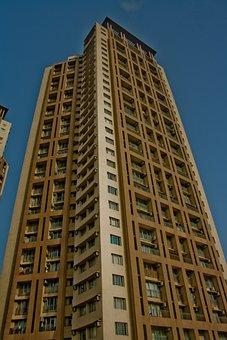 Tower, Building, Tall, High, Mumbai, India