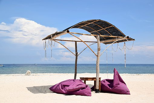 Indonesia, Travel, Gili Islands, Sea, Water, Beach
