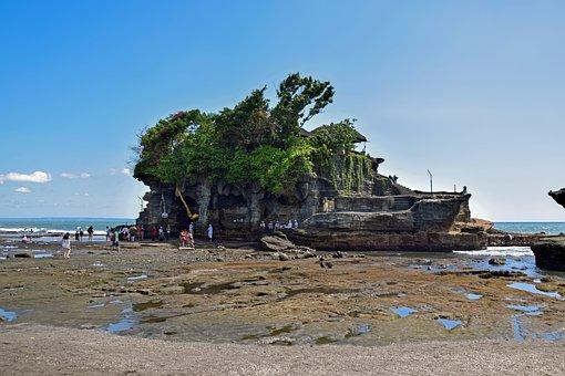 Bali, Indonesia, Travel, Temple, Tanah Lot, Panorama