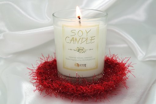 Second, Incense, Candle, Soy Candle, Color, Initials