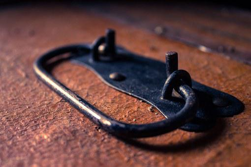 Malle, Suitcase, Handle, Leather