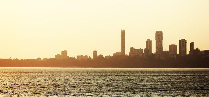 Mumbai, Bombay, India, Skyline, City, Metropole
