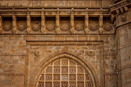 Temple, Facade, Ancient, Architecture, Mumbai