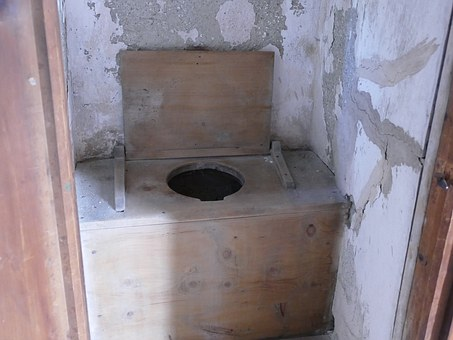 Toilet, Primitive, Castle, Old