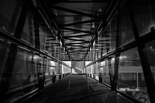 Bridge, Chair, Perspective, Airport, Soledad